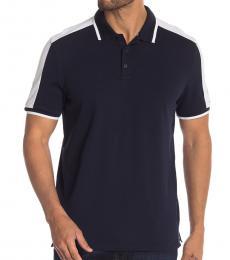 Sky Captain Short Sleeve Colorblock Polo