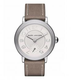 Marc Jacobs Cement-Silver Riley Modish Watch