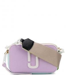 Marc Jacobs Purple Mint Rose Snapshot Crossbody Bag