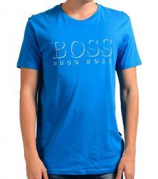 Hugo Boss Blue Crewneck T-Shirt