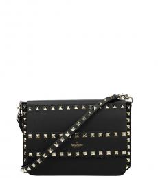 Black Rockstud Small Crossbody