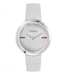 Furla Cream Piper Groovy Watch