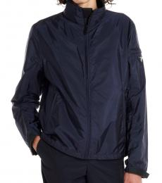 Navy Blue Logo Jacket