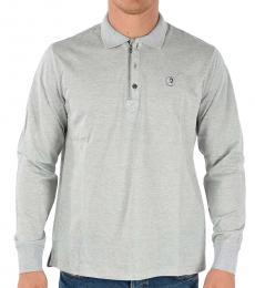 Diesel Grey Long Sleeve Hart Polo