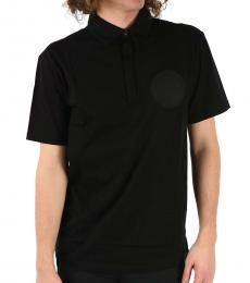 Black Oversize Fit Polo