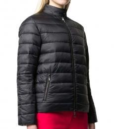 Black  Reversible Padded Jacket