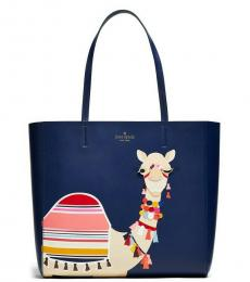 Kate Spade Navy Spice Things Up Camel Medium Tote
