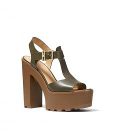 Michael Kors Olive Sinead Heels