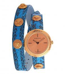 Versace Blue Medusa Stud Icon Watch