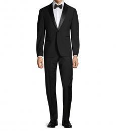 Black Slim-Fit Tuxedo Suit