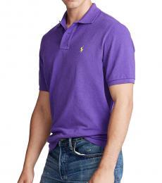 Ralph Lauren Cabana Purple Classic Fit Mesh Polo