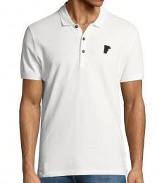 Versace Collection White Short Sleeve Polo