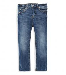7 For All Mankind Little Girls Blue Skinny Jeans