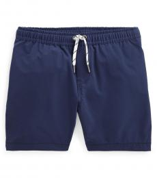 Ralph Lauren Little Boys Navy Pull on Shorts