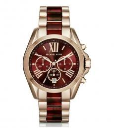 Michael Kors Gold Logo Watch