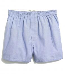 J.Crew Light Blue Solid Woven Boxers