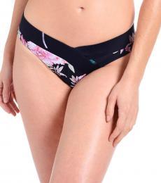 Rachel Roy Parad.Navy Scoop V-Front Bikini Bottoms