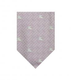 Burberry Light Pink Plaids Tie