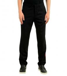 Hugo Boss Black Wool Casual Pants