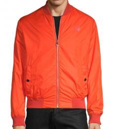 Versace Collection Coral Front-Zip Jacket