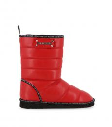 Red Iconic Ankle Boots