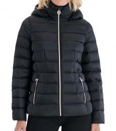 Michael Kors Black Packable Down Puffer Jacket