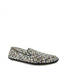 Multicolor Floral Printed Loafers