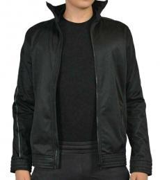Roberto Cavalli Black Full Zip Jacket