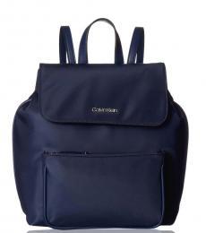 Navy Abby Medium Backpack