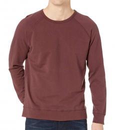 Sulfur Rich Carmine Siris Crew Sweatshirt