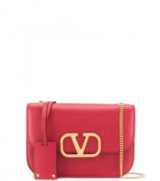 Valentino Garavani Red Vsling Small Shoulder Bag
