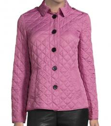 Burberry Vintage Rose Classic Quilted Jacket