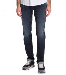 True Religion Dark Blue Rocco Relaxed Skinny Jeans