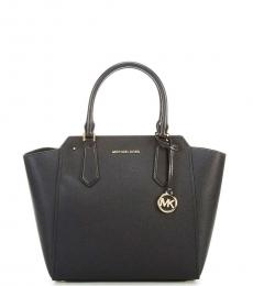 Michael Kors Black Hayes North South Large Satchel