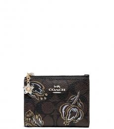 Coach Chestnut Tulip Snap Wallet