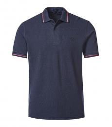Fred Perry Dark Blue Logo Patch Polo