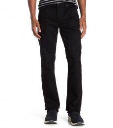Black Ricky Relaxed Straight Leg Jeans