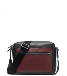 Michael Kors Black Hudson Medium Crossbody Bag