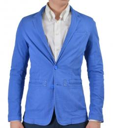 Blue Two Button Sport Blazer