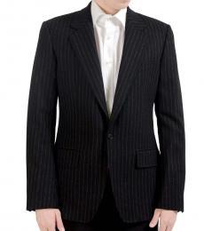 Dolce & Gabbana Black Woolen Blazer