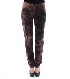 Dolce & Gabbana Dark Brown Regular Fit Jeans