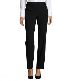 Black Modern-Fit Dress Pants