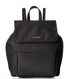Black Abby Medium Backpack