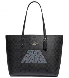Coach Black Town Large Tote