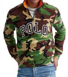 Surplus Camo Half-Zip Sweatshirt