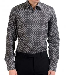 Dark Grey Long Sleeve Dress Shirt