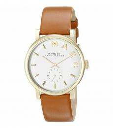 Marc Jacobs Brown Baker Watch