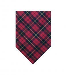 Ralph Lauren Red Well Tailored Tie