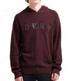 DKNY Wine Tasting Logo Sweater Hoodie
