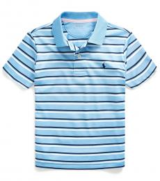 Ralph Lauren Little Boys Blue Lagoon Striped Polo